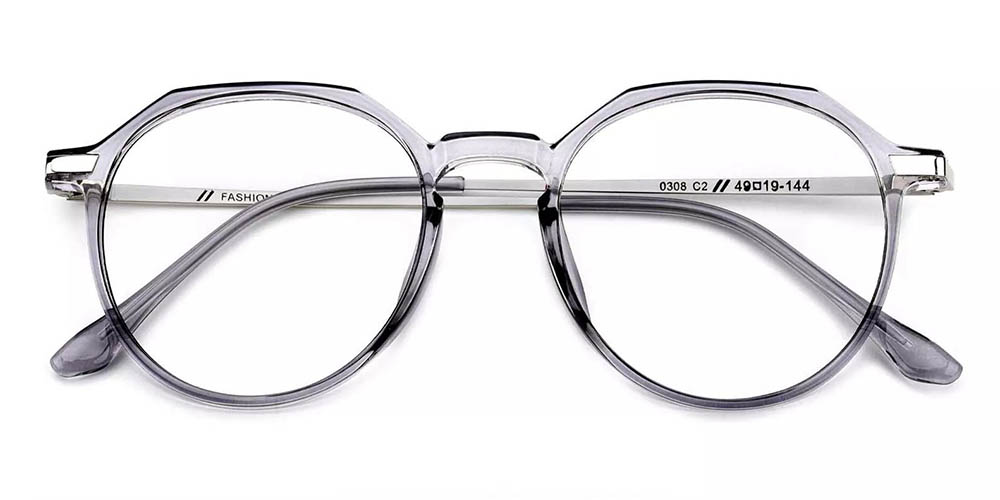 Centennial Prescription Glasses Clear Grey
