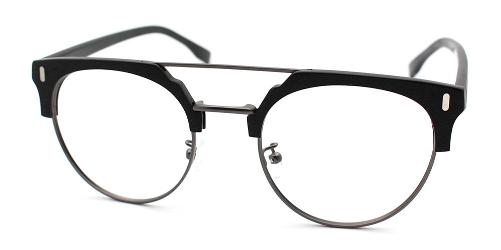 Evan Eyeglasses Black