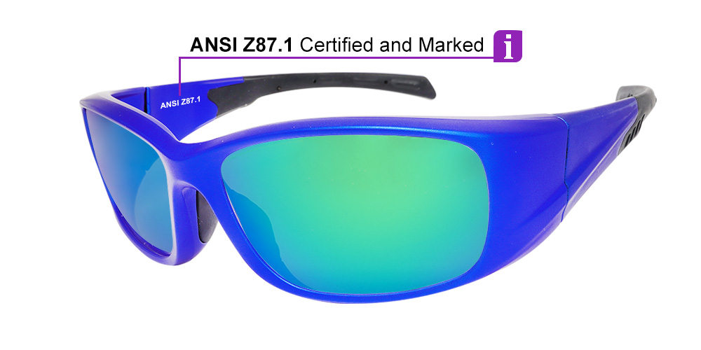 Matrix Whitney Prescription Sports Sunglasses - Z87 and CSA Certified