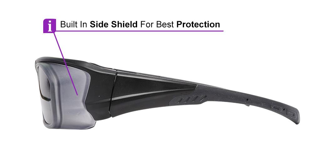 Matrix Corona Prescription Safety Sports Sunglasses - ANSI Z87.1 Safety Glasses