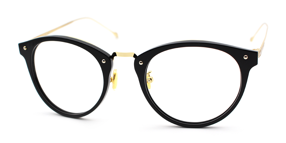 Mila Eyeglasses Black