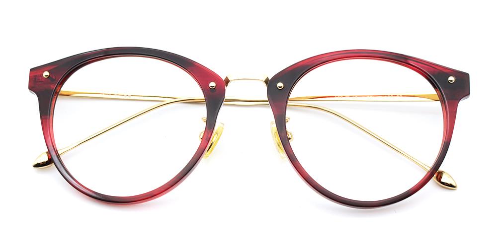 Mila Eyeglasses Red
