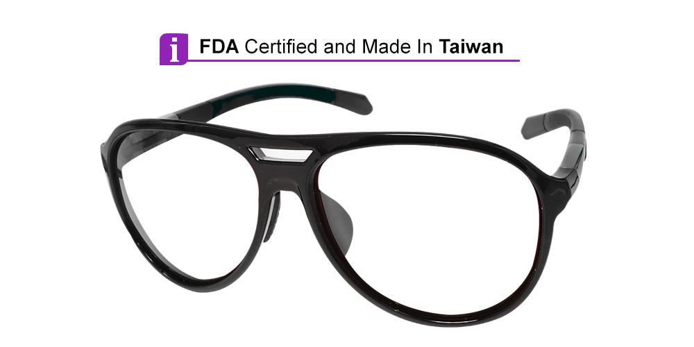 Matrix Belmont Prescription Safety Glasses