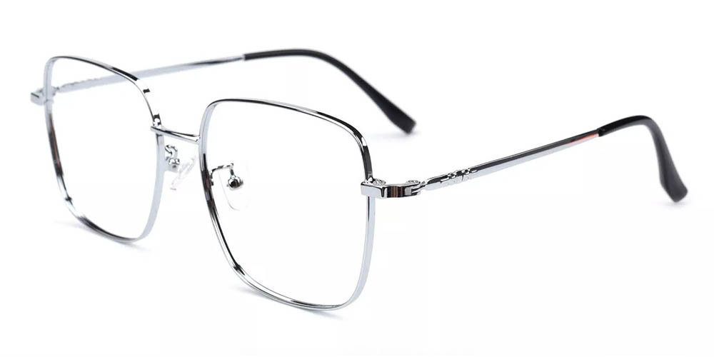 Boulder Prescription Glasses Silver