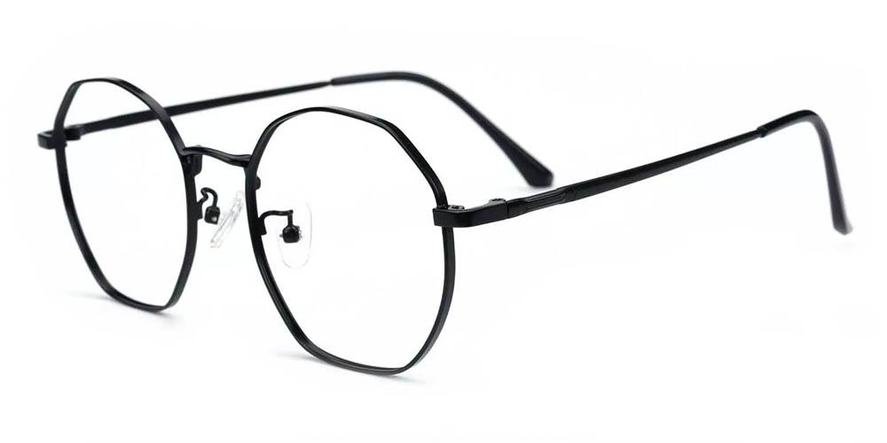 Downey Prescription Glasses Black