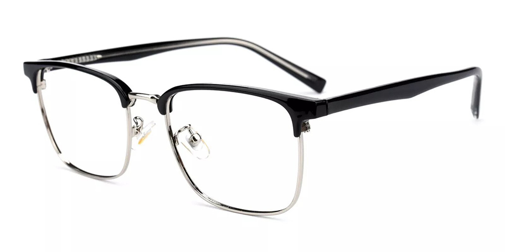 Brownsville Discount Prescription Glasses Silver