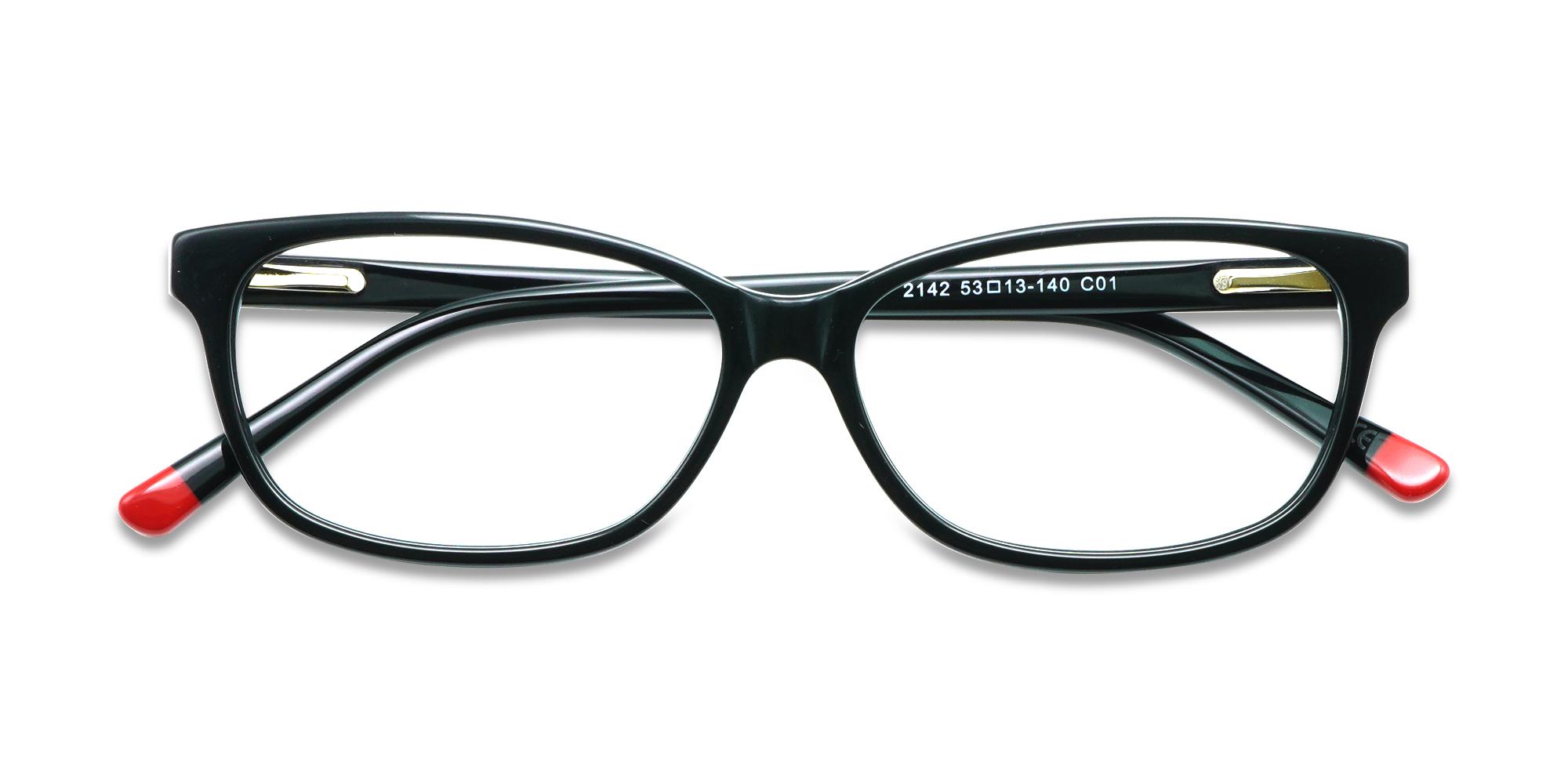 Capitola Eyeglasses Black