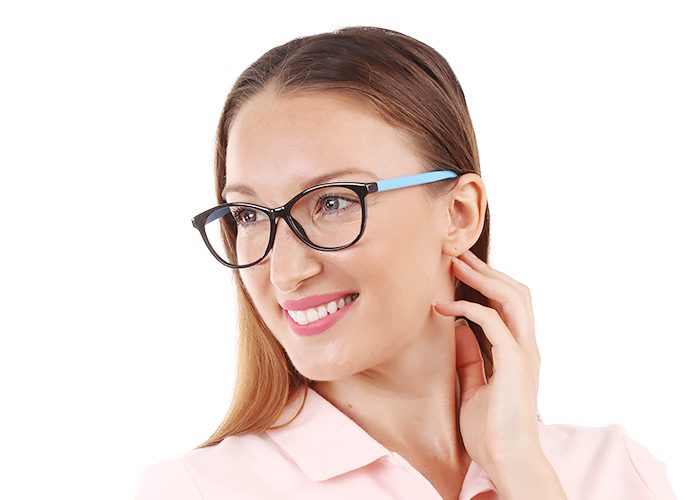 Jamestown Eyeglasses BlackBlue