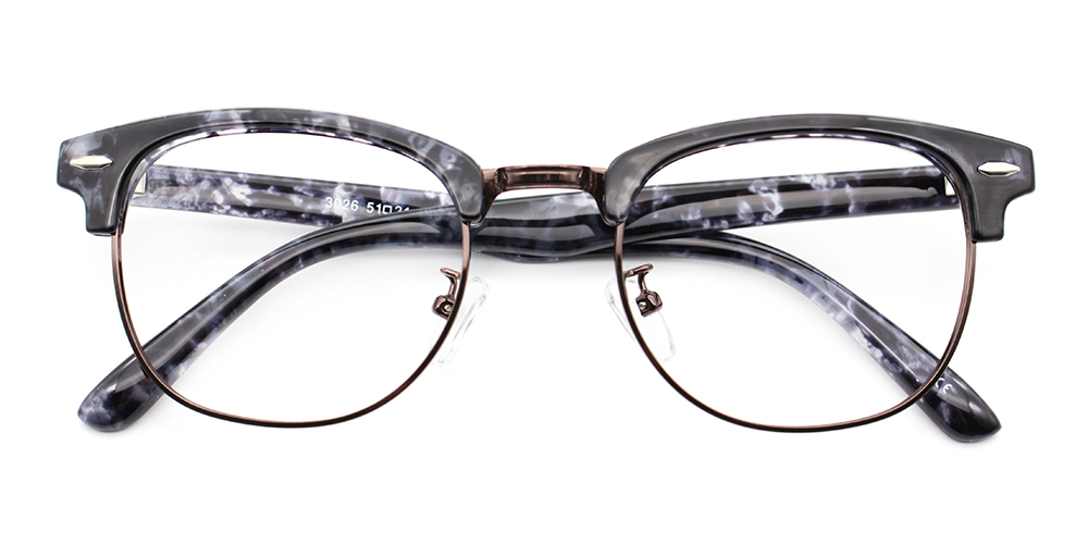Morey Eyeglasses Grey