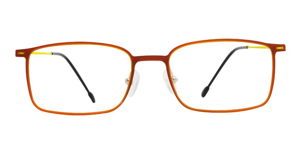 Kevin Bendable Glasses  Orange