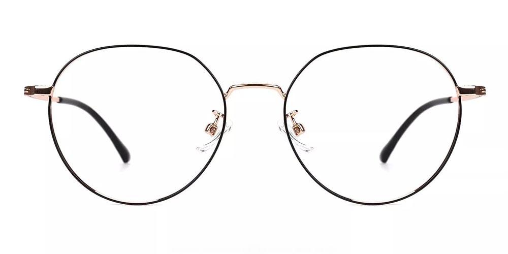 Capitola Metal Prescription Glasses Gold