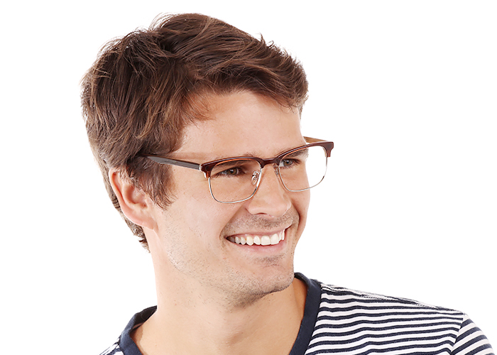 Groveland Eyeglasses Brown