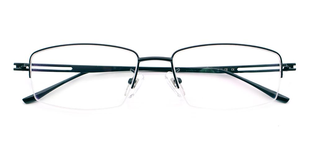 Liam Titanium Glasses Black