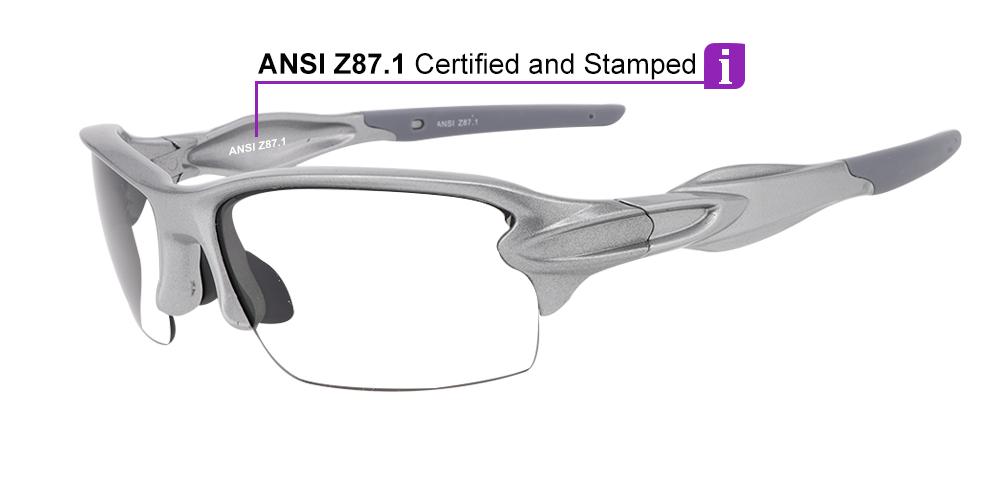 Matrix S713G Prescription Safety Glasses ANSI Z87.1