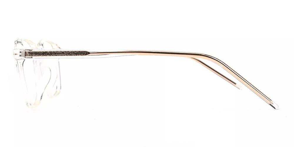 Joliet Prescription Glasses - Light & Strong TR90 - Clear