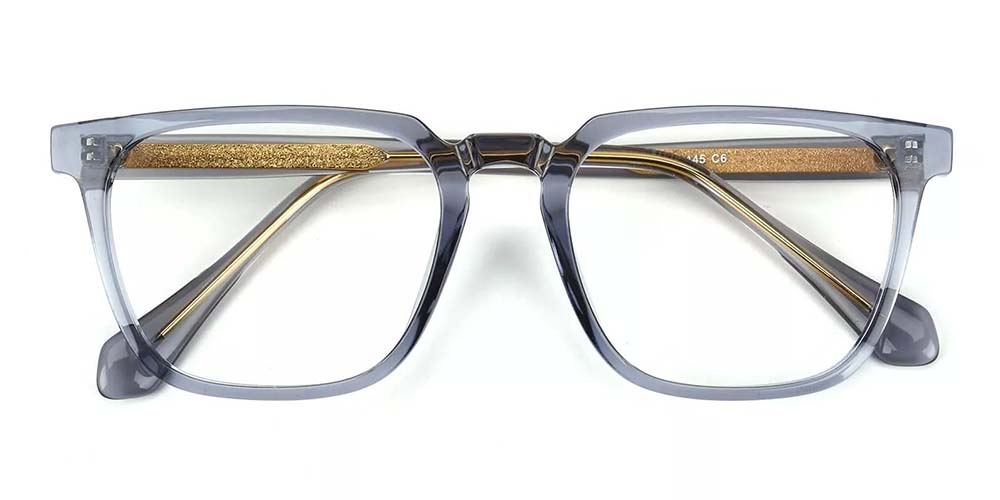 San Mateo Prescription Glasses Clear Grey