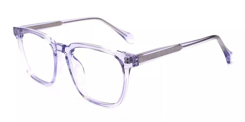 San Mateo Prescription Glasses Clear Purple