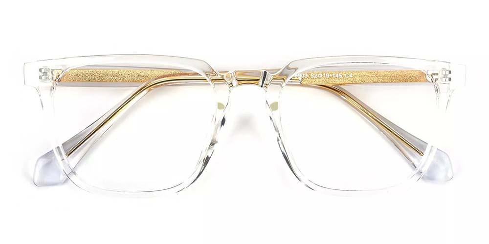 San Mateo Prescription Glasses Clear