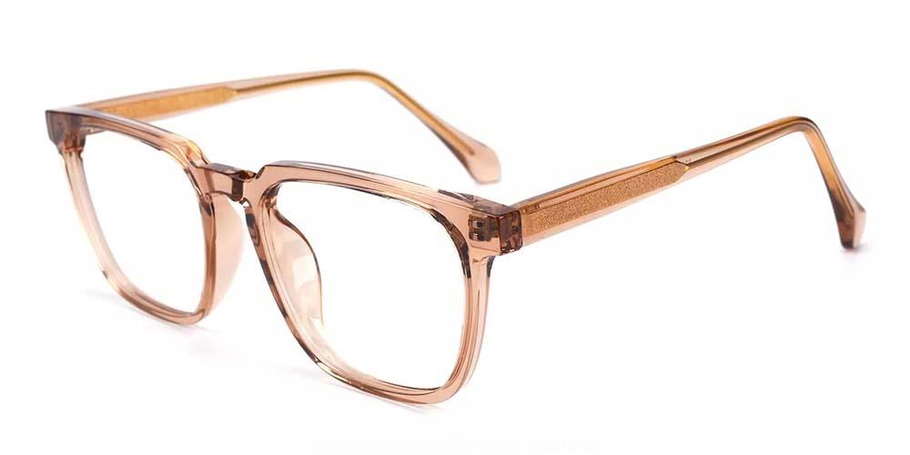 San Mateo Prescription Glasses Clear Gold