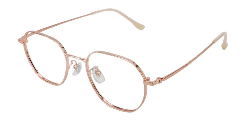 Clarita Rx Titanium Glasses