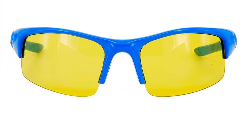 Norfork Prescription Safety Glasses Blue -- ANSI Z87.1 Rated