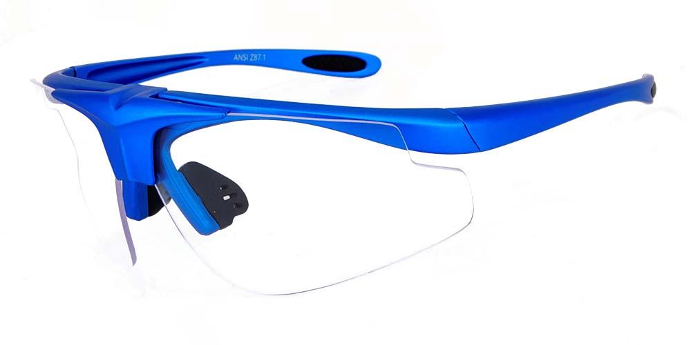 Danville Prescription Safety Glasses -- Three Interchangeable Lenses