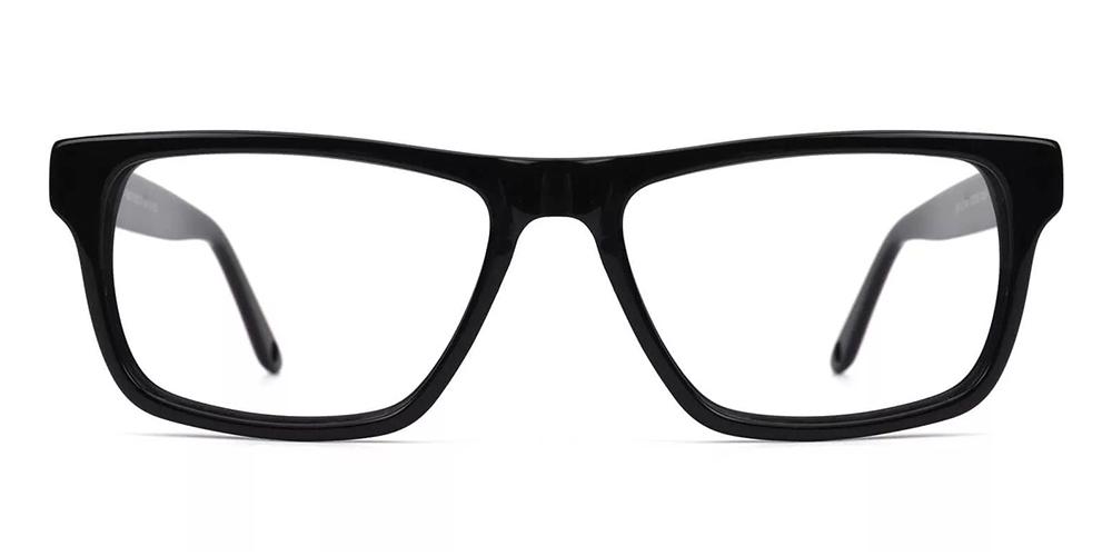 Hillsboro Acetate Eyeglasses Black