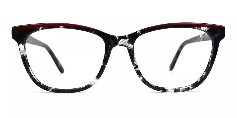 Antioch Cat Eye Prescription Glasses - Handmade Acetate - Tortoise