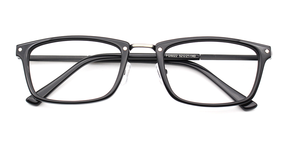Samuel Eyeglasses Black
