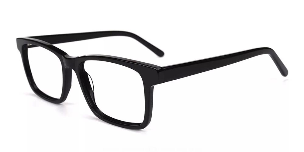 Norco Clip On Prescription Sunglasses - Hand Made Acetate - Black