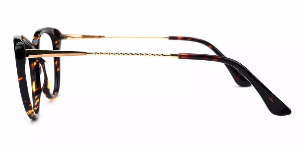 Aberdeen Cat Eye Prescription Glasses - Handmade Acetate - Tortoise