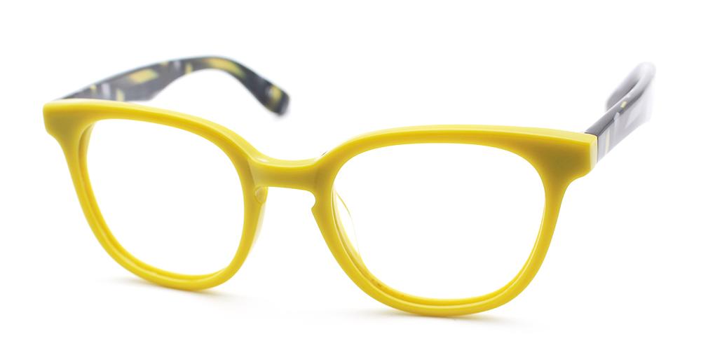 Audrey Eyeglasses Yellow