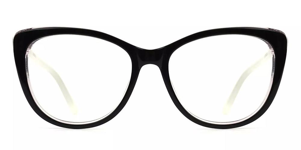 Marina Cat Eye Women Eyeglasses Brown