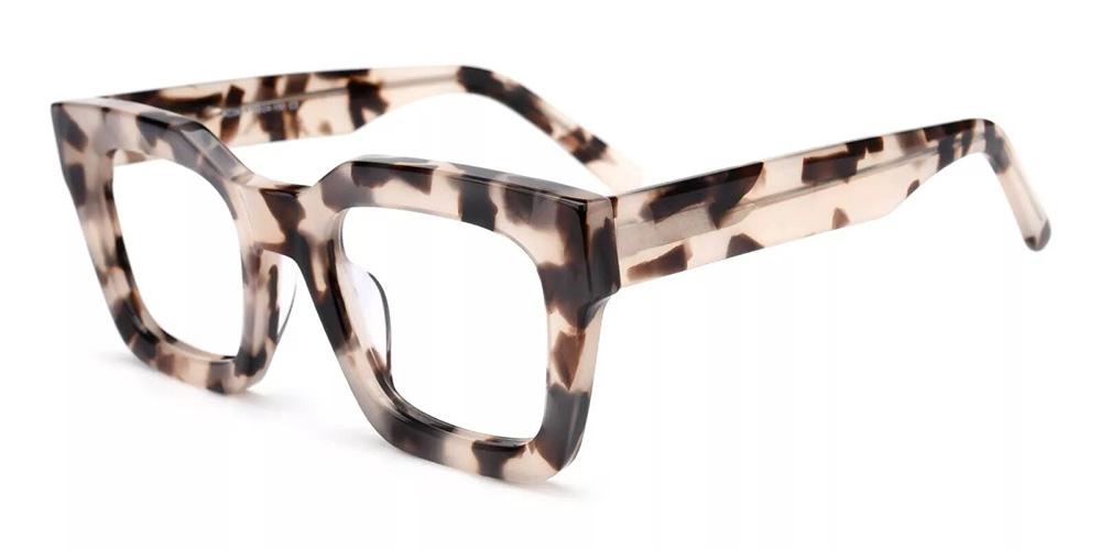 Mobile Prescription Glasses - Handmade Acetate - Demi