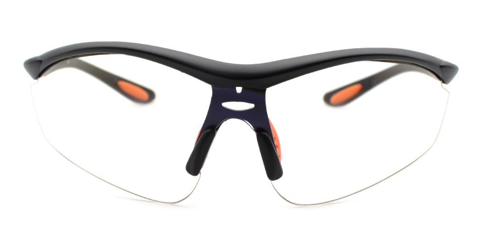 Connor Rx Safety Glasses Black - Prescription Sports Glasses