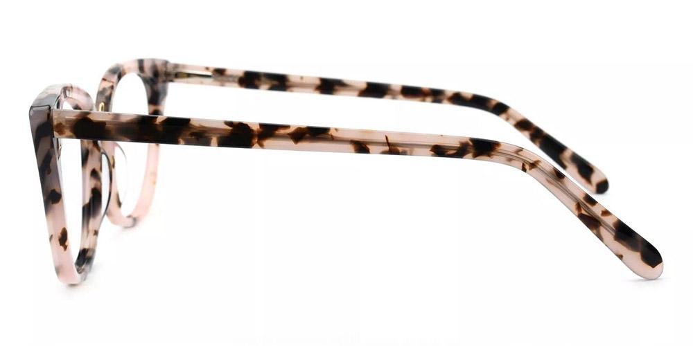 Stamford Cat Eye Prescription Glasses - Handmade Acetate - Tortoise