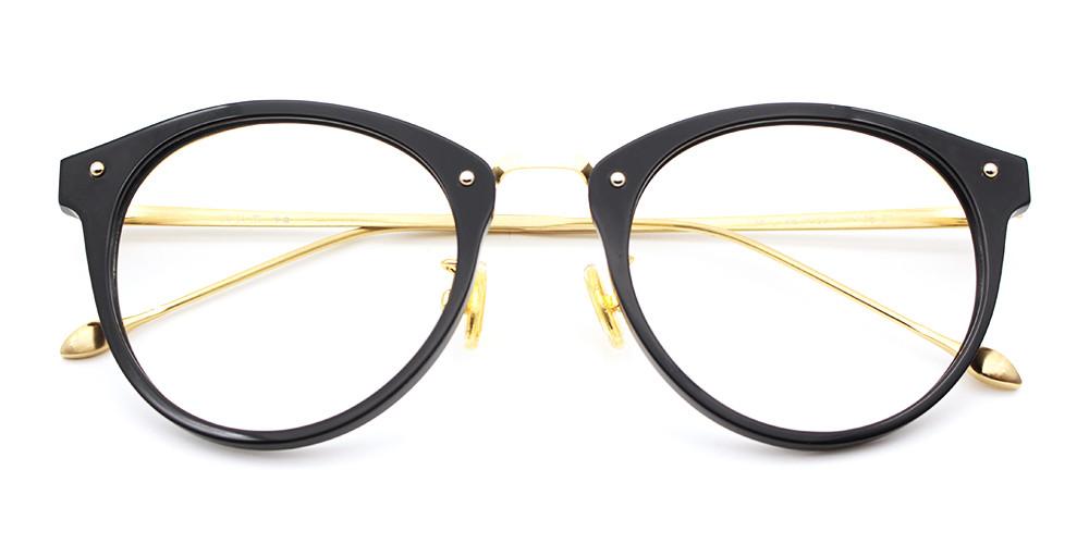 Mila Eyeglasses Black