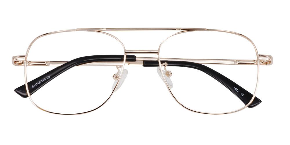Cortland Eyeglasses Gold