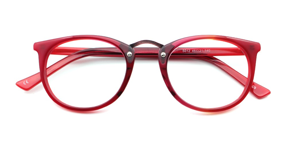 Gabriella Eyeglasses Red