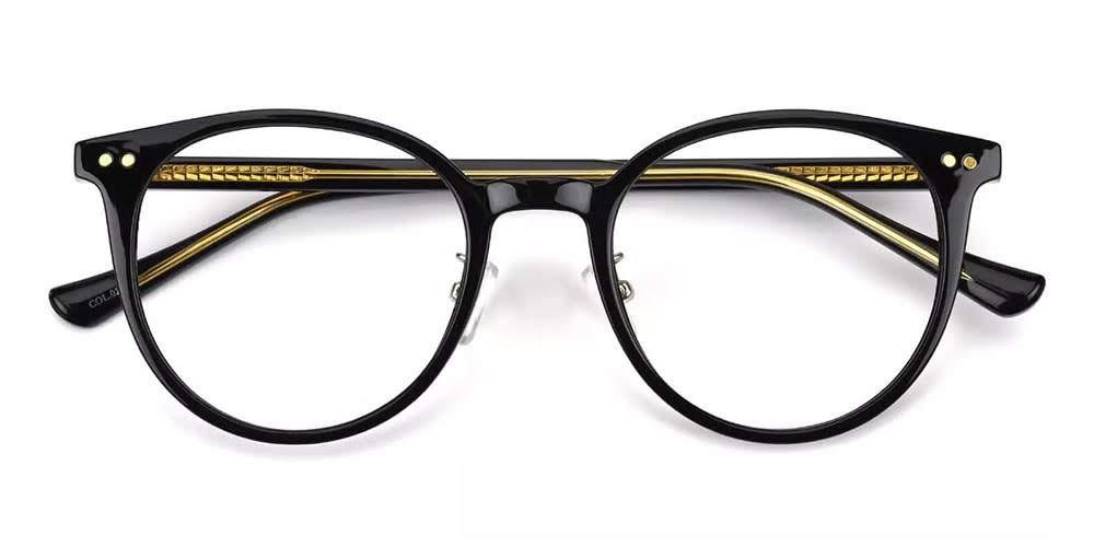 Greeley Prescription Eyeglasses Black