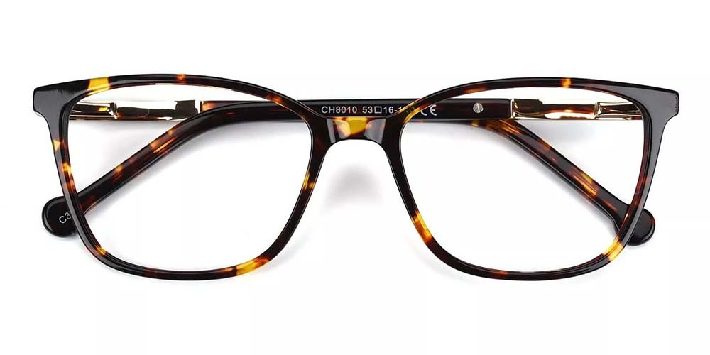 Pueblo Cat Eye Prescription Glasses - Handmade Acetate - Tortoise