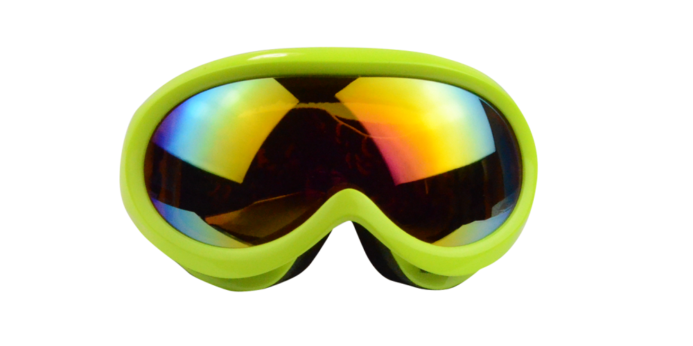Mateo Rx Snowboard and  Ski Goggle Green (Rx Inserts)