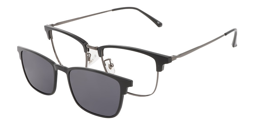 Valencia Clip-On Rx Sunglasses