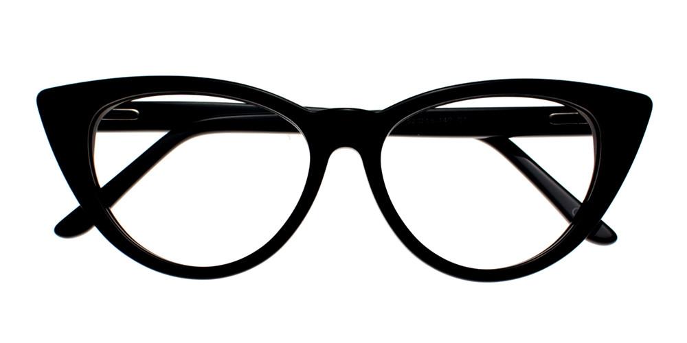 Catalina Eyeglasses Black
