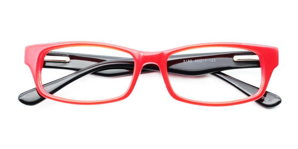 Alex Kids Rx Glasses Red