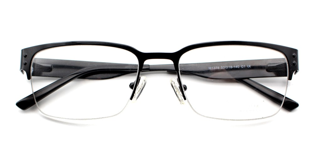 Yohan Eyeglasses Black