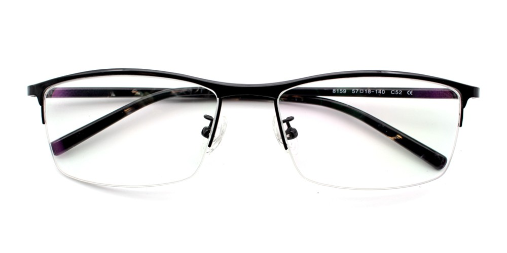 Nael Prscription Eyeglasses Black