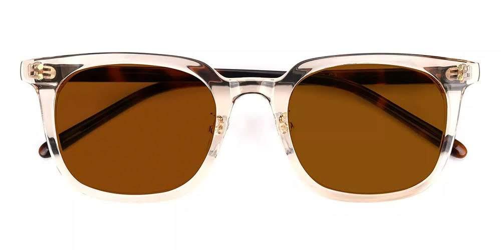 Peoria Prescription Sunglasses Clear Pink