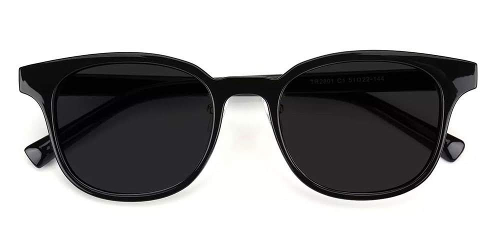 Clovis Prescription Sunglasses Black