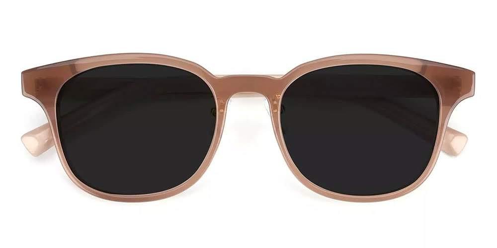 Clovis Prescription Sunglasses Brown